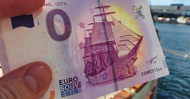 Ноль евро – новая купюра Евросоюза