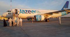 На родину из Кувейта вернулись 102 кыргызстанца