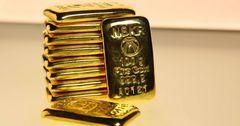 За год золотые мерные слитки Нацбанка подорожали на 13%