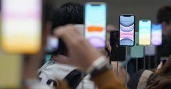 На новые iPhone наблюдается повышенный спрос