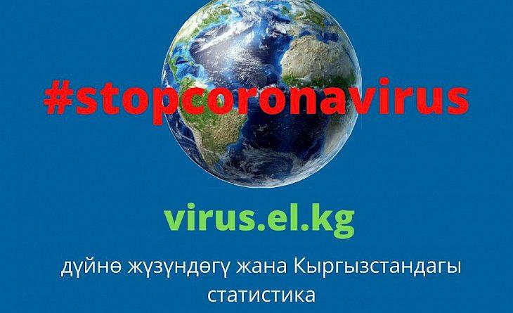 Коронавирус боюнча маалыматкамтылган кыргыз тилдүү сайт иштелип чыкты