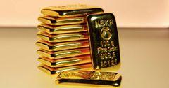 Таза куйма алтындын баасы бир түндүн ичинде төмөндөдү