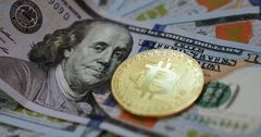 За сутки биткоин потерял в цене 10%