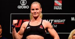 Валентина Шевченковошла в десятку самых высокооплачиваемых спортсменок UFC