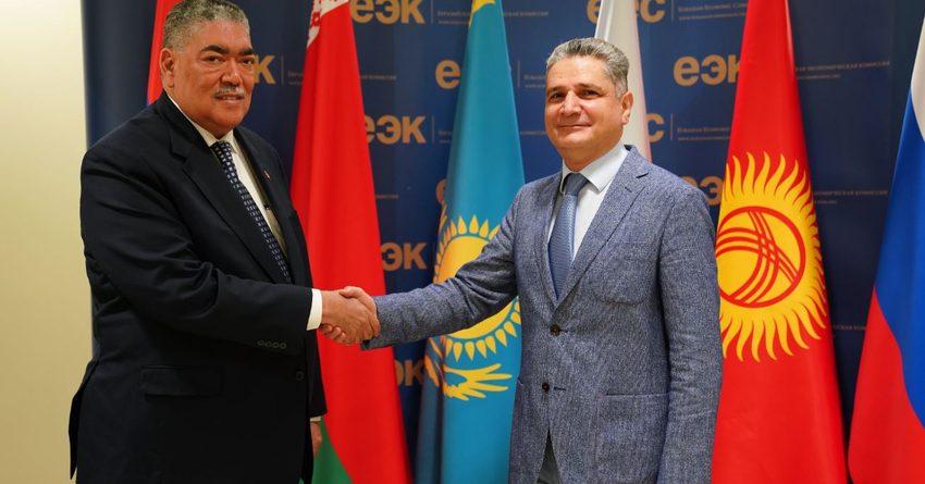 Доминиканская Республика и ЕАЭС развивают сотрудничество