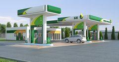 В ноябре сети АЗС Бишкека одинаково повысили цены на бензин на 0.5 сома