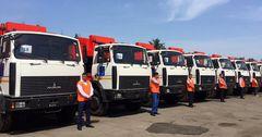 В рамках помощи ЕС и ЕБРР столица получила 32 новых машины по сбору отходов