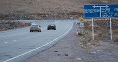 Завершена шероховатая обработка 10 км автодороги Бишкек — Торугарт