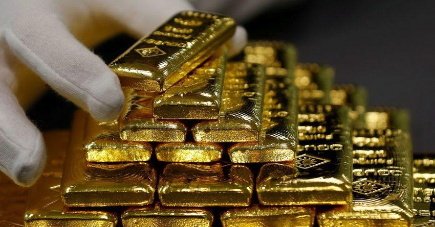 Экспорт золота в начале года вырос на 43.6%