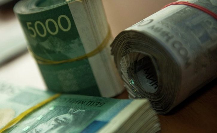 За 2017 год доходы госбюджета составили 148.6 млрд сомов