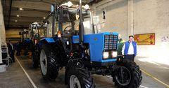 Минский тракторный завод открыл сборочный цех в Бишкеке на базе Автомаш-Радиатора