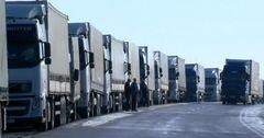 На границе с Казахстаном новая очередь из фур