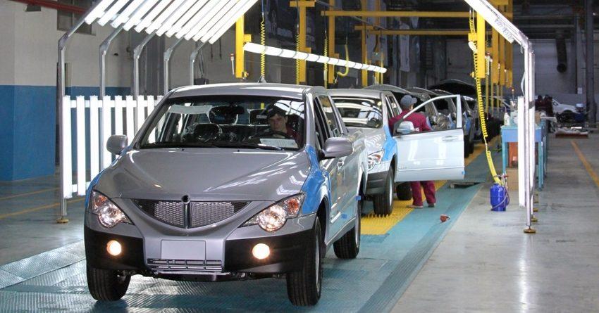 Производство автомобилей в РК в I полугодии сократилось в 2.2 раза