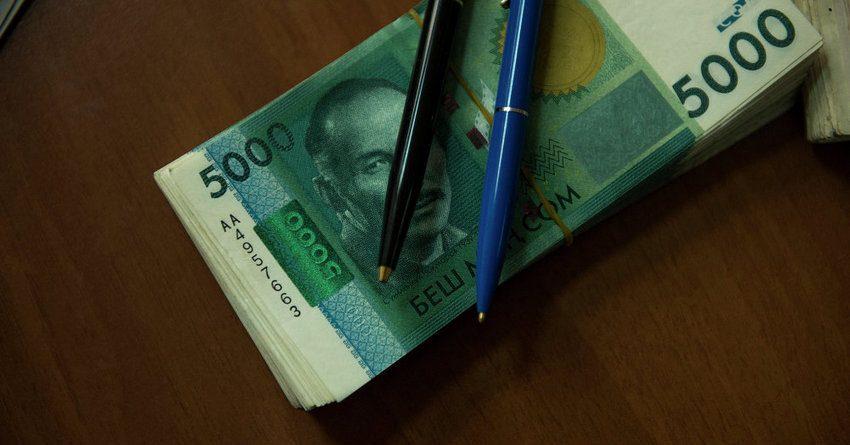 Поступления в бюджет с начала года выросли на 8% – до 74.7 млрд сомов