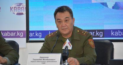 В КР за коррупцию задержан зампред ГСИН Таалайбек Нуралиев