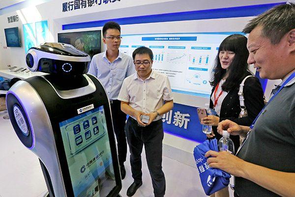 В КНР заработал банк, которым навсе 100% управляют роботы