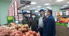 Госантимонополия выявила нарушения по завышению цен на продукты в Оше