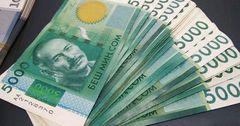 С начала года бюджет недополучил 14 млрд сомов