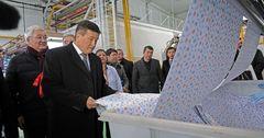 Текстильное предприятие производительностью 10 тонн в день запущено в Чуйской области