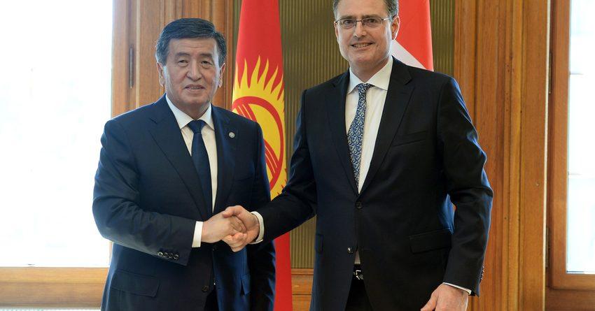Кыргызстан и Швейцария расширят сотрудничество в банковском секторе