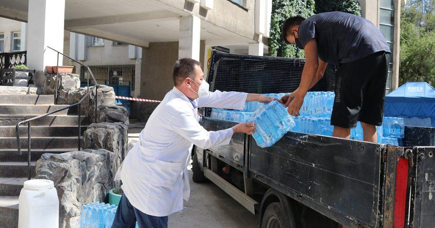 Красный Полумесяц оказывает помощь дневным стационарам Бишкека