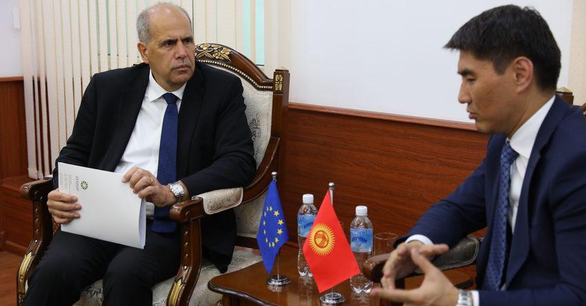ЕС и КР обсудили рекультивацию урановых хвостохранилищ