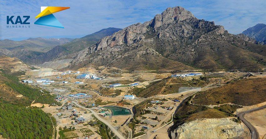 Акции KAZ Minerals упали на 7.92%