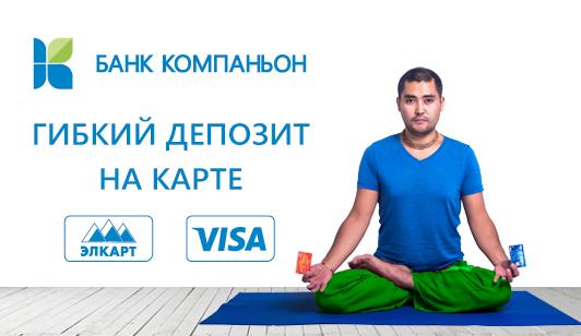 Гибкий депозит Элкарт/Visa